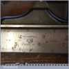 Vintage Box Engineer's Tools Combination Square Protractor Centre Finder Ruler