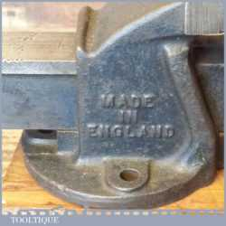 "Small Vintage Record No: 00 Engineering Vice 2 ¼"" Jaws - Fully Refurbished"