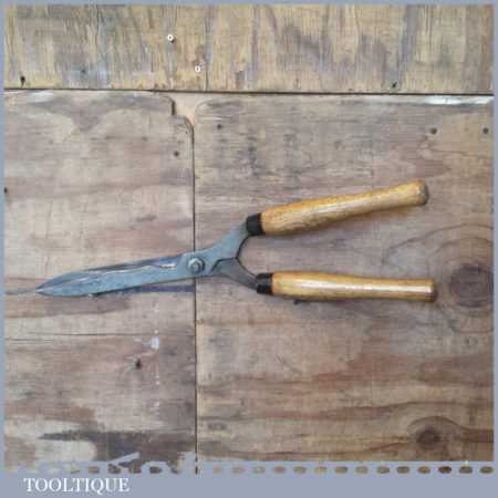 Vintage Spear & Jackson Hedge Trimming Shears - Fully Refurbished Sharpened