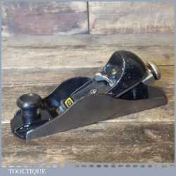 Stanley No: G12-220 Adjustable Block Plane - Fully Refurbished Ready To Use