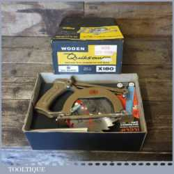 Vintage Boxed Woden No: X180 Saw Attachment For Electric Drill