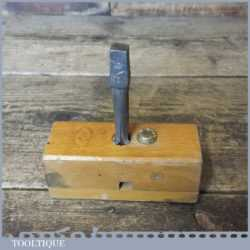 "Vintage W Marples & Sons 1/2"" Screw Box And Tap - Good Condition"