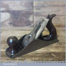 Vintage Stanley Sweetheart USA No: 4 ½ Wide Bodied Smoothing Plane 1910 Refurbished