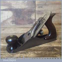 Early Vintage Stanley USA No: 4 Low Knob Smoothing Plane - Fully Refurbished
