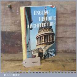 Interesting English Historic Architecture Book By Bryan Little