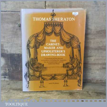 The Cabinet Maker And Upholsterer's Drawing Book By Thomas Sheraton