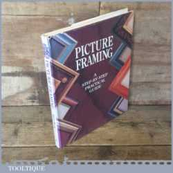 Picture Framing book And Step By Step Practical Guide By Vivien Frank