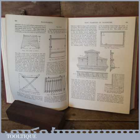 Cassell's Woodworking Hardback Book Edited By Paul N Hasluck