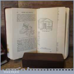 Rare Set Of 6 Volumes Of Carpentry And Joinery Books - Richard Greenhalgh