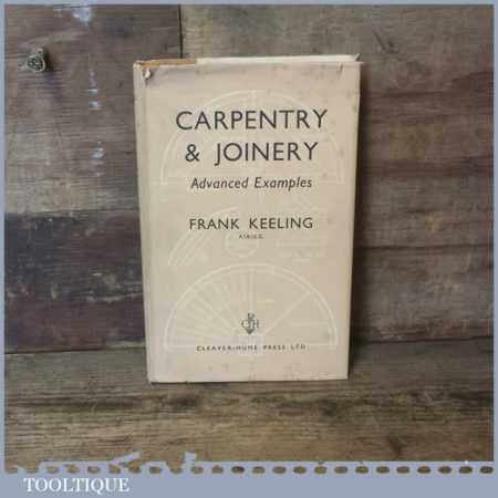 Carpentry And Joinery Hardback Book By Frank Keeling