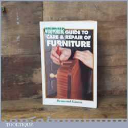 Woodworking Guide To Care Repair Of Furniture Book By Desmond Gaston