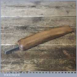 Vintage Shoemaker's No: 4 Leatherworking Channel Jigger - Good Condition