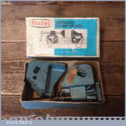 Vintage Pair Boxed Paramo Improved Cramp Heads - Good Condition