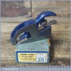 Vintage Boxed Record No: 076 Bull Nose Plane - Fully Refurbished