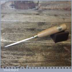 Vintage Ashley Isles Woodturning Chisel With Beechwood Handle