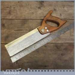 """Vintage Spear and Jackson 10"""" Dovetail Saw"""