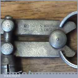 "Vintage Moore & Wright 4"" Spring Caliper Outside Dividers"