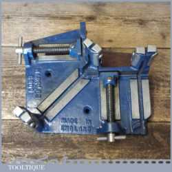Vintage Marples No: 6809 Mitre Saw Cutting Vice Square Guide And Clamp