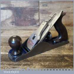 Vintage Woden No: W4 Smoothing Plane - Fully Refurbished Ready To Use