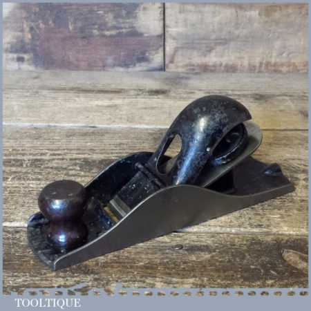 Vintage Stanley USA No: 110 Block Plane - Fully Refurbished Ready To Use