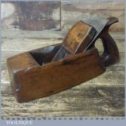 Vintage Carpenter's Handled Beechwood Smoothing Block Plane