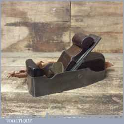 Antique Henry Slater Parallel Sided Smoothing Plane Rosewood Infill - Marples Iron