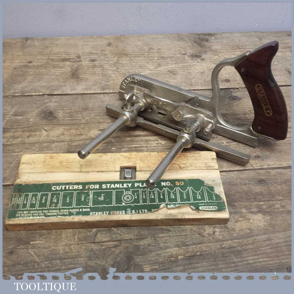 Vintage Stanley No: 50 Combination Plough Plane