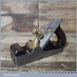 Antique Spiers Of Ayr Scottish Parallel Dovetailed Smoothing Plane - Rosewood Infill