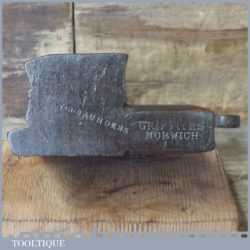 """Antique Griffiths Norwich 5/8"""" Ovolo Beechwood Moulding Plane"""