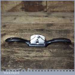 Vintage No: 51 Flat Soled Metal Spokeshave - Fully Refurbished Ready To Use