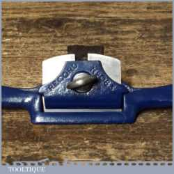 Vintage Record No: 063 Curved Sole Metal Spokeshave - Ready To Use