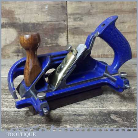 Vintage WS No: A78 Twin Arm Duplex Rabbet Plane - Fully Refurbished