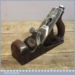 Early Vintage Norris No: 51 Smoothing Plane