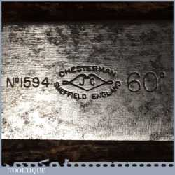Scarce Vintage Chesterman No: 1594 Triangular 60-Degree Rafter Angle Square