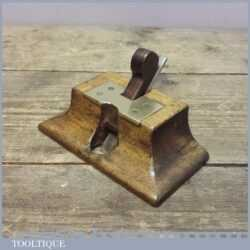 "Vintage 5"" Wide Miniature Old Mothers Tooth Router Plane"