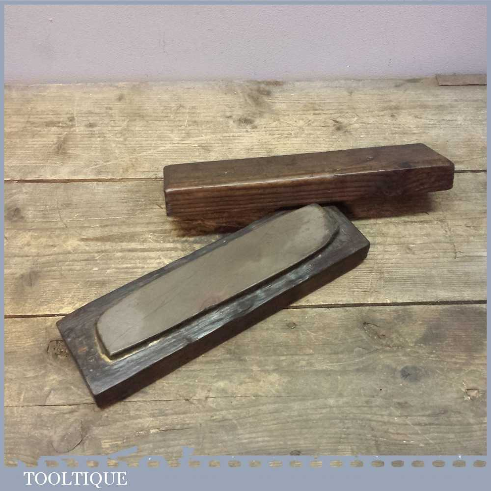 Vintage natural honing oil stone hone tool after sharpening for How to hone marble