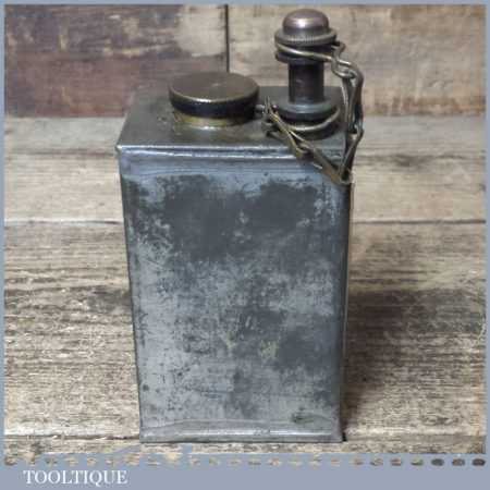 Vintage WWI SAE 10/30 Army Military Gunners Oil Can Broad Arrow