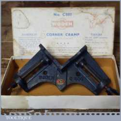 Vintage Boxed Woden C800 Mitre Or Corner Clamp - Good Condition