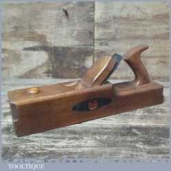 Vintage W. Marples Carpenter's Beechwood Technical Jack Plane - Lapped Flat