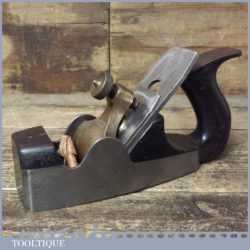 Antique Alex Mathieson Dovetailed Smoothing Plane Rosewood Infill - Refurbished