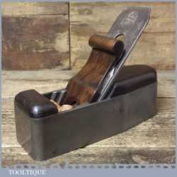 Antique York Pitch Scottish Pattern Smoothing Plane - Rosewood Infill