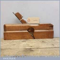 Unusual Continental Hollow Moulding Plane Marked L.T Louis Thuilot – Anholt 1836