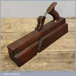 Vintage Handled Twin Iron Stick And Rebate Plane By Varvil & Sons Of York.
