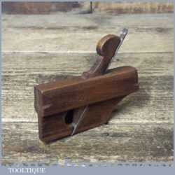 "Vintage Luthiers Miniature 3 ½"" Beechwood Rounding Plane - Good Condition"