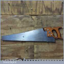"Vintage 24"" Henry Disston Philadelphia USA D8 Cross Cut Handsaw - Sharpened"