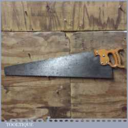 "Vintage Spear & Jackson Spearior 28"" Rip Saw With 4 TPI - Sharpened"