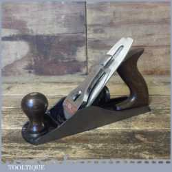 Vintage Stanley England No: 4 Smoothing Plane - Fully Refurbished