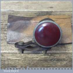 Antique Bicycle Rear Light Or Reflector - Good Condition