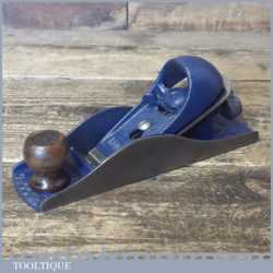 Vintage Record No: 0220 Block Plane - Fully Refurbished Ready To Use
