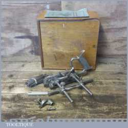Vintage Boxed Record No: 050 Combination Plough Plane - Fully Refurbished